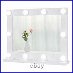Waneway Hollywood Mirror for Dressing Table, Large Lighted Vanity Mirror