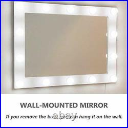 Waneway Hollywood Mirror with Lights for Dressing Table, Extra Large Lighted