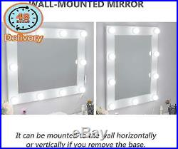 Waneway Hollywood Vanity Mirror With Lights, Large Lighted Makeup Mirror For Dre