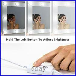 Waneway Hollywood Vanity Mirror with Lights, Large Lighted Makeup Mirror for