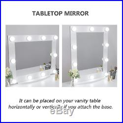 Waneway Hollywood Vanity Mirror with Lights, Large Lighted Makeup Mirror for &