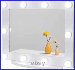 Waneway Hollywood Vanity Mirror with Lights, Large Lighted Makeup Mirror for and