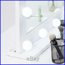 Waneway Vanity Mirror with Lights, Hollywood Lighted Makeup Mirror with 14 Dimma