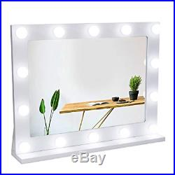Waneway Vanity Mirror with Lights, Hollywood Lighted Makeup Mirror with 14 LED &