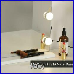 Wayking Makeup Mirror With Lights, Hollywood Lighted Vanity Mirror With Touch Sc